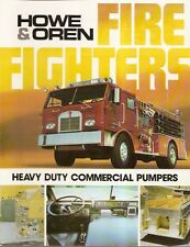 Fire Equipment Brochure - Howe & Oren - Heavy Duty Commercial Pumpers (DB22)