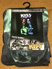 "KISS FLEECE BLANKET 45"" X 60""  BRAND NEW!"