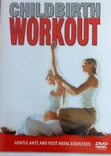 CHILDBIRTH WORKOUT DVD ~ ANTE AND POST NATAL EXERCISES ~ PREGNANCY FITNESS