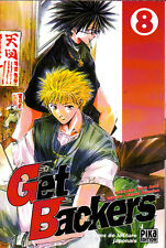 GET BACKERS    MANGA  N° 8   PIKA  EDITION