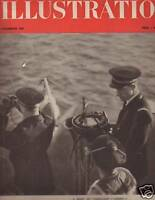 1939 French Illustration December 2 - Siroco Torpedo