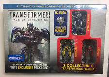 TRANSFORMERS AGE OF EXTINCTION ULTIMATE TRANSFORMERS BLU-RAY GIFT SET SEALED