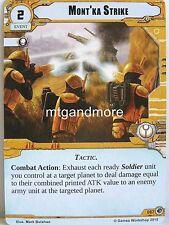 Warhammer 40000 Conquest LCG-Mont 'ka Strike #067 - Dames Salvage