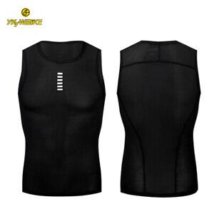 YKYWBIKE Biking Base Layer Jersey Sleeveless Inner Singlet Underwear Sport Vest