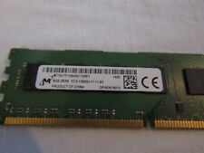 8GB Micron DDR3-1600 SDRAM UDIMM  PC3-12800U Desktop memory mt16jtf1g64az-1g6e1