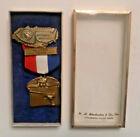 VTG. 1961 National Rifle Association Shooting Medal NATIONAL MATCHES MASTER TEAM