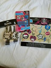 Monster high Party Decoration Lot