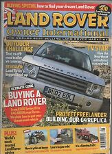 LAND ROVER OWNER INTERNATIONAL AUGUST 2004 - BUYERS GUIDE / FREELANDER PROJECT