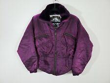 Vintage Nils Skiwear Jacket Women's Size 8 Purple