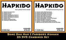 Hapkido featuring Bong Soo Han and Fariborz Azhakh (20 DVD Combined Set)
