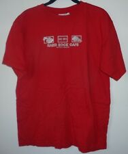 Men's Tee Shirt,Hard Rock Cafe,Surfers Paradise,Red,Size M,Women,Graphic T