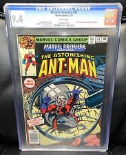 CGC 9.4 White Pager! Marvel Premiere 47 1st Scott Lang In Ant-man Costume