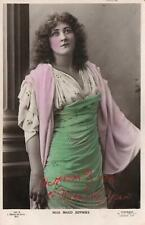 VINTAGE Hand-Coloured Beagles REAL PHOTO MISS MAUD JEFFRIES POSTCARD - Liverpool