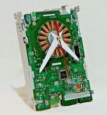 Recycled clock Computer geek gifts Modern desk clock Industrial table clock