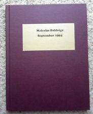 Malcolm Baldrige September 1994 Oncology Systems Customer Support Financial Sc..