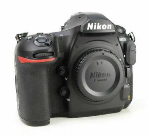 Nikon D850 FX DSLR Camera - Body Only + 4K + WiFi + XQD CF + 11,753 Shots + Box