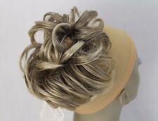 "New Synthetic Hairpiece Bun Scrunchies Hair extension Elastic ponytail hairdo 6"""