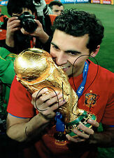 Alvaro Arbeloa Firmado Autógrafo España Copa del Mundo ganador 16x12 Foto Aftal Coa