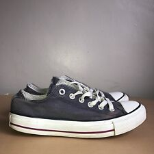 Converse Lo-Tops Size 5 Blue And White All Stars