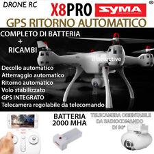 DRONE SYMA X8 PRO REALTIME FPV WIFI GPS HEADLESS RITORNO AUTOMATICO