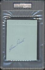 Brian Piccolo Signed Album Page PSA/DNA Certified Authentic Auto Autograph *4404