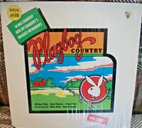 Playboy Country vol 1 1976 LP Mickey Gilley Barbi Benton Brenda Pepper shrink