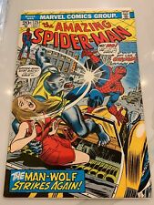 Amazing Spider-Man 125 Vf/Nm Bronze Age comic featuring The Man-Wolf!