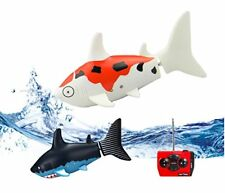 Telecomando PESCI giocattolo Squalo - 30 METRI gamma RC ROBOT ROBO PESCE SHARK SWIMMI