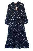 JOULES Naomi Lace Detail Dress Pink Sz 18 RRP£99.95FreeUKP/&P