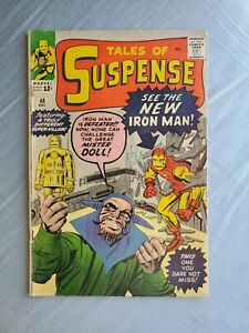 TALES OF SUSPENSE #48  NEW COSTUME VG