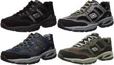Skechers Sport Men's Vigor 2.0 Trait Memory Foam Fashion Sneaker Shoes