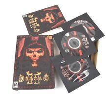 Diablo II 2 Blizzard Entertainment PC CD-ROM Video Game 2000 - Complete in Box