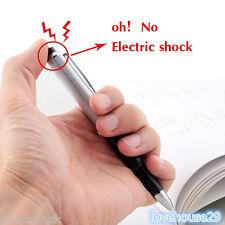 1 Kugelschreiber Elektroschock Stromschlag Shock Pen Scherzartikel 14.2cm