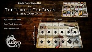 Lord Of The Rings LCG Custom Made Game Mat