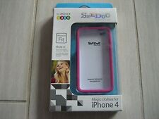 SEE DOO Magic Clothes Bumper for iPhone 4/4S (Pink) New