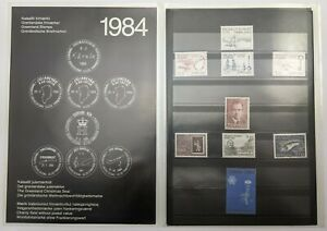 Greenland 1984 Official Year Pack - Stamps MNH - Complete as Issued