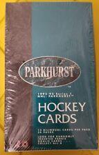 NEW Factory Sealed 1992-93 NHL Parkhurst Series 1 I One Hockey Wax Box 36 Packs