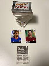 Uefa Euro 2008 Panini - Full set of loose stickers Ronaldo and Modric Rare - NEW