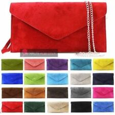 Leather Solid Clutch Handbags