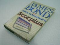 VINTAGE JAMES BOND SCORPIUS ,JOHN GARDNER, UK 1ST EDITION