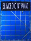 Service Dog In Training Patch Canine Support Registry Guide Assistance Alert