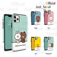 Official LINE FRIENDS Guard Up Bumper Phone Case Cover Relax Series+Tracking