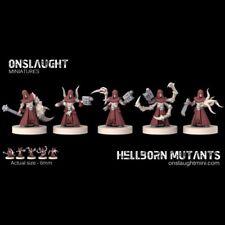 Onslaught Miniatures - Hellborn Mutants - 6mm
