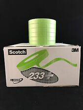 "6: 3M Scotch Green 233+ 26334 Performance Auto Masking Tape 3/4"" FREE PRIORITY"