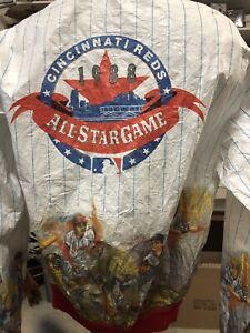 cincinnati reds 1988 All Star Game jscket size XL