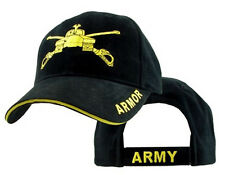 U.S. Army Armor Hat / Black Baseball Cap