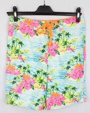 Hollister California Men Swimming Board Shorts Trunks Swimwear Flowers size S