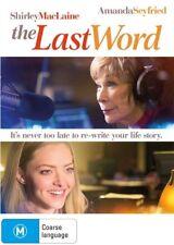 The Last Word (DVD) Amanda Seyfried - Shirley MacLaine - Comedy Drame - Region 4