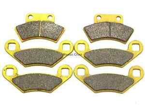 MC F&R Brake Pads For Polaris Trail Boss 350L 400L Xplorer 300 400L Magnum 425