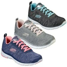Skechers Womens Flex Appeal 3.0 Insiders Trainers Air Cooled Memory Foam Shoes